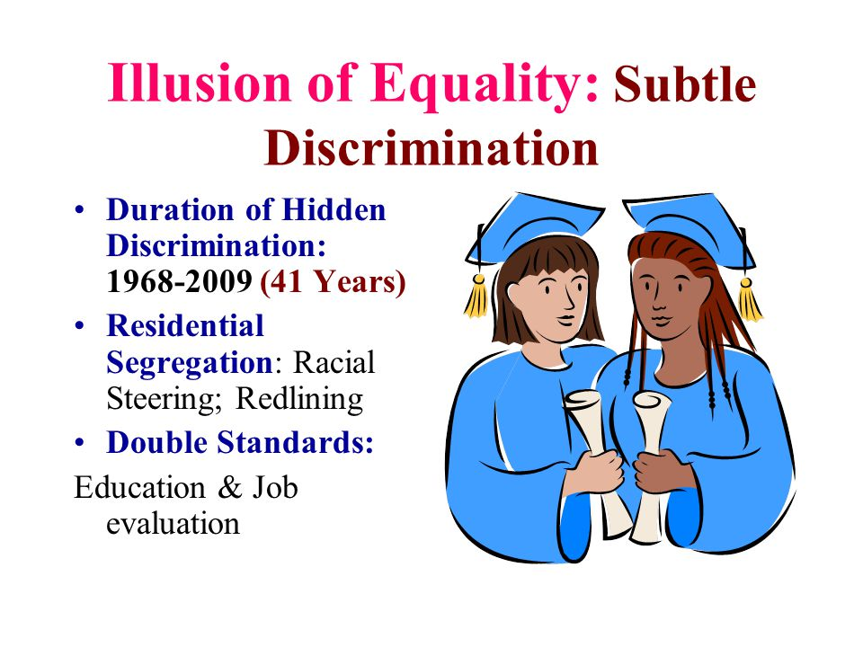 Illusion of Equality: Subtle Discrimination
