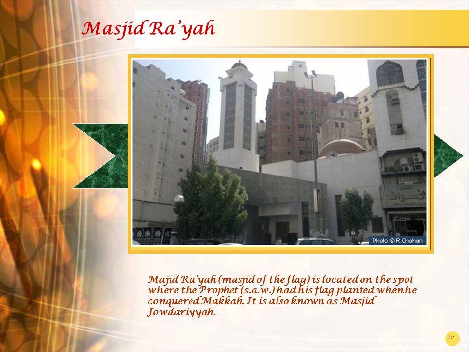 Masjid Ra'yah
