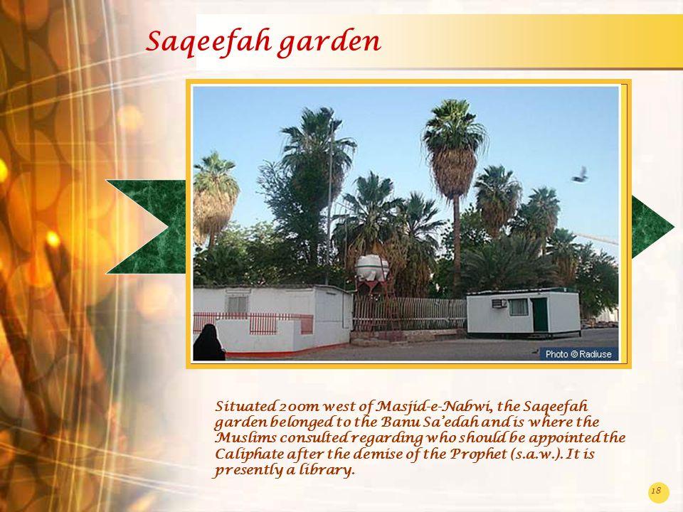 Saqeefah garden