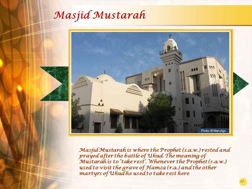 Masjid Mustarah