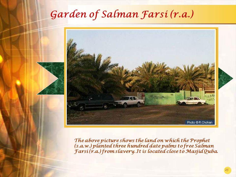 Garden of Salman Farsi (r.a.)
