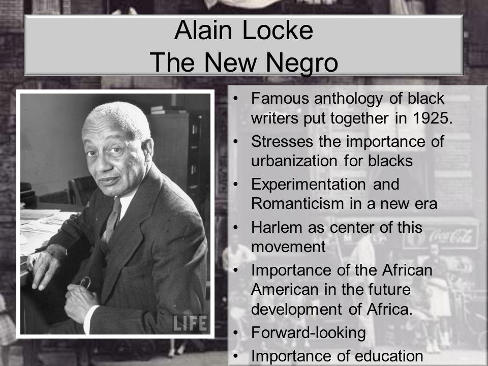 Alain Locke The New Negro