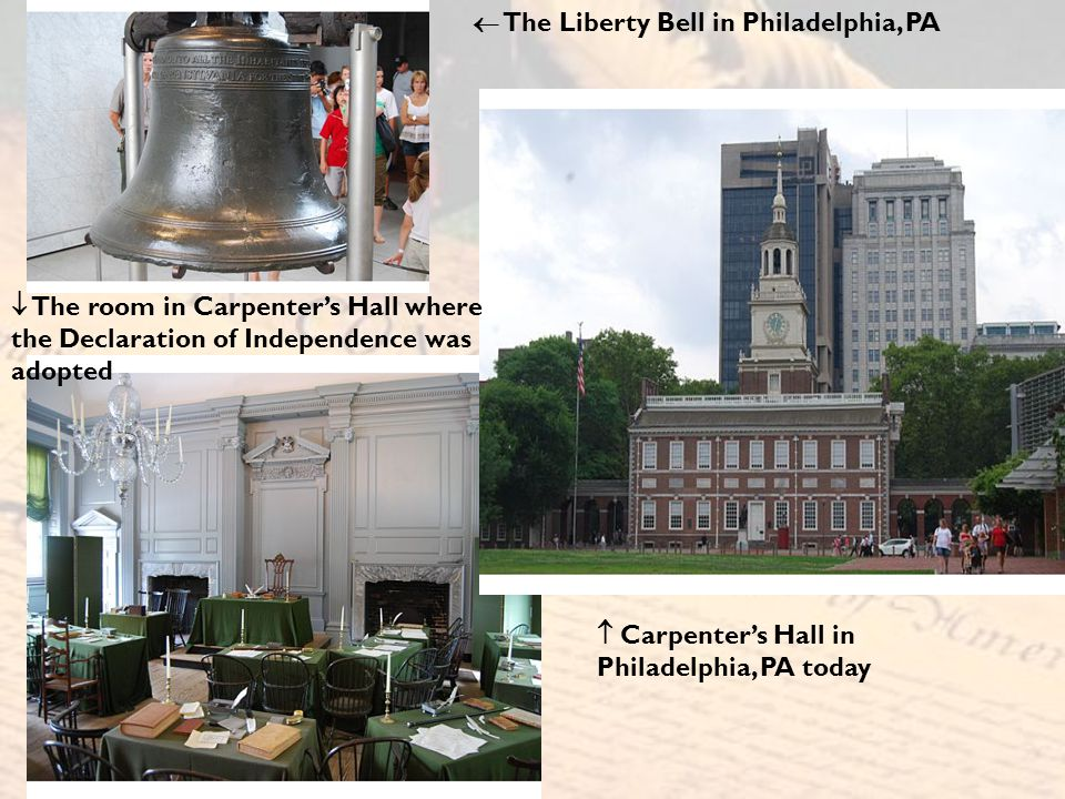  The Liberty Bell in Philadelphia, PA
