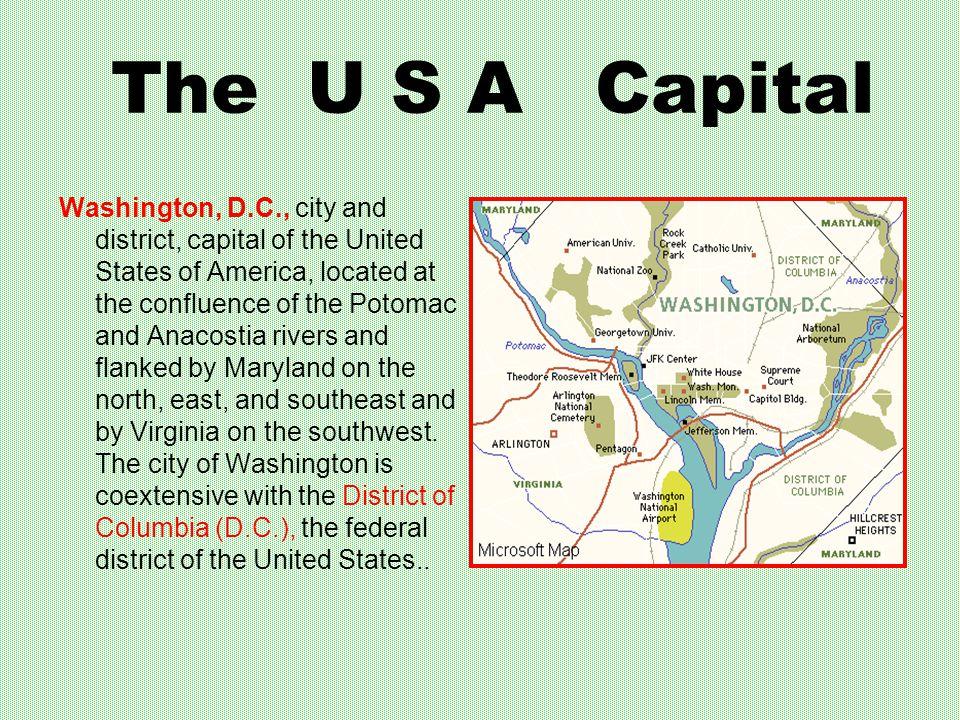 The U S A Capital