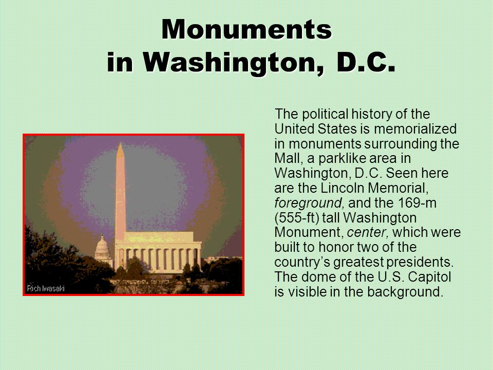 Monuments in Washington, D.C.