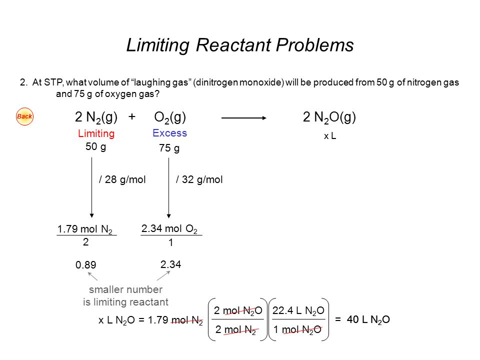 Excess Reactant ppt video online download – Limiting Reactant Problems Worksheet