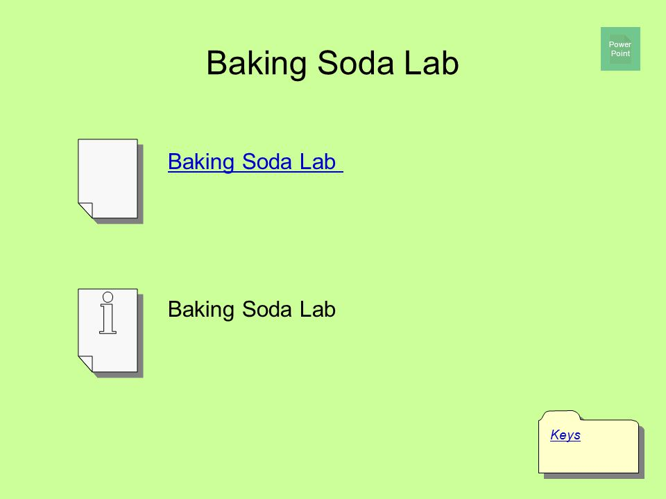 Baking Soda Lab Power Point Baking Soda Lab Baking Soda Lab Keys