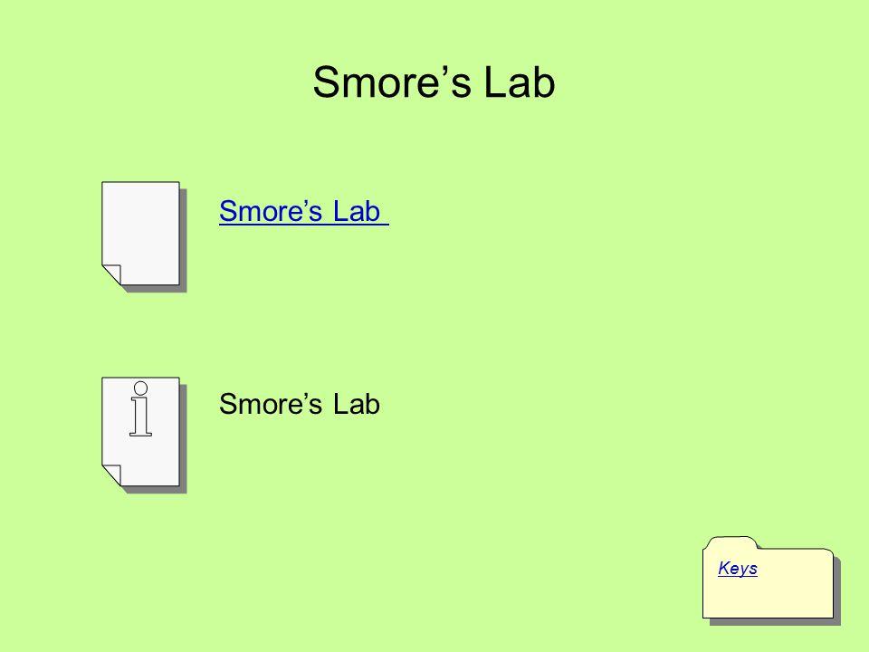 Smore's Lab Smore's Lab Smore's Lab Keys