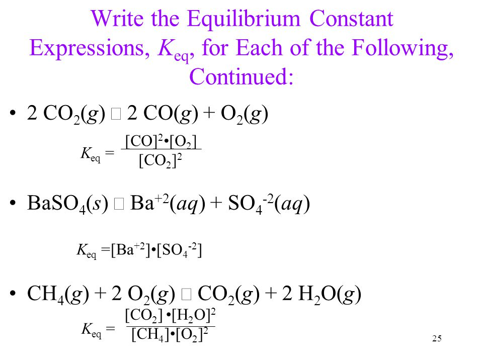 writing equilibrium expressions In 1864, peter waage and cato maxmilian guldberg (both of norway) published the modern meaning of the equilibrium constant please trust the chemteam when i say that the above, modern way of writing an equilibrium expression says exactly the same thing as the way they wrote it.