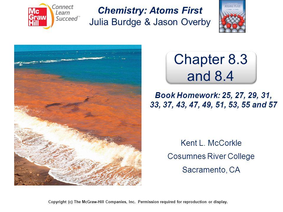 Chemistry: Atoms First Julia Burdge & Jason Overby