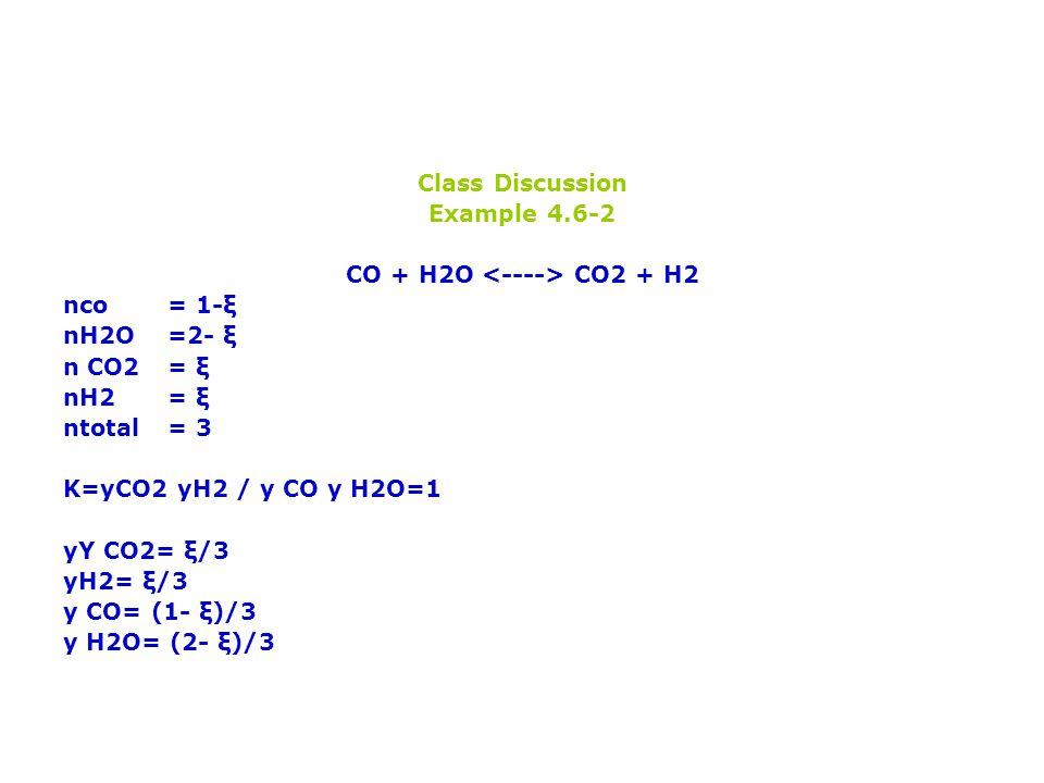 CO + H2O <----> CO2 + H2