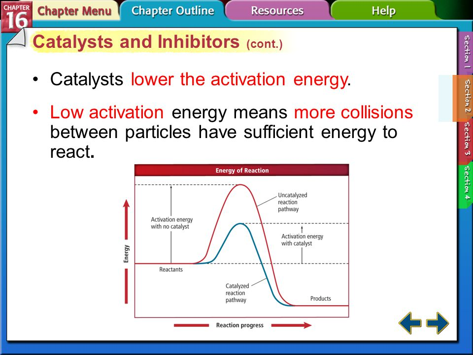 Catalysts and Inhibitors (cont.)