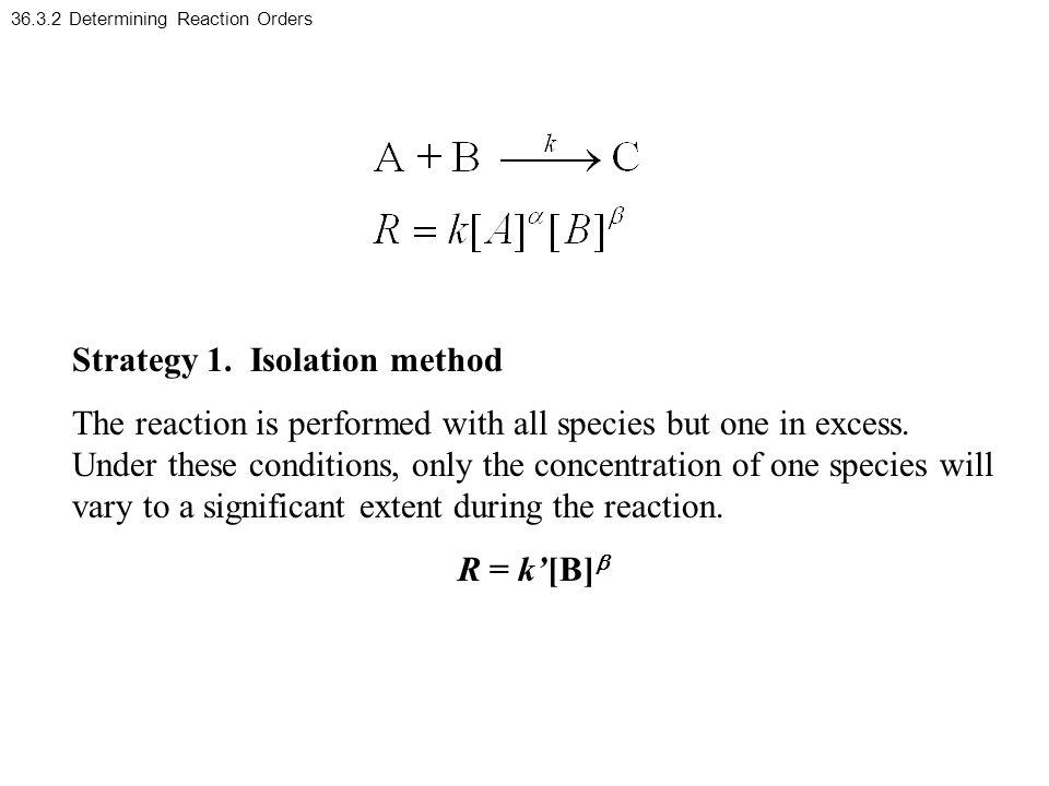 36.3.2 Determining Reaction Orders