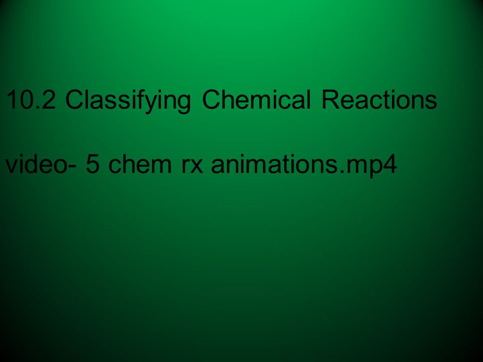 10.2 Classifying Chemical Reactions video- 5 chem rx animations.mp4