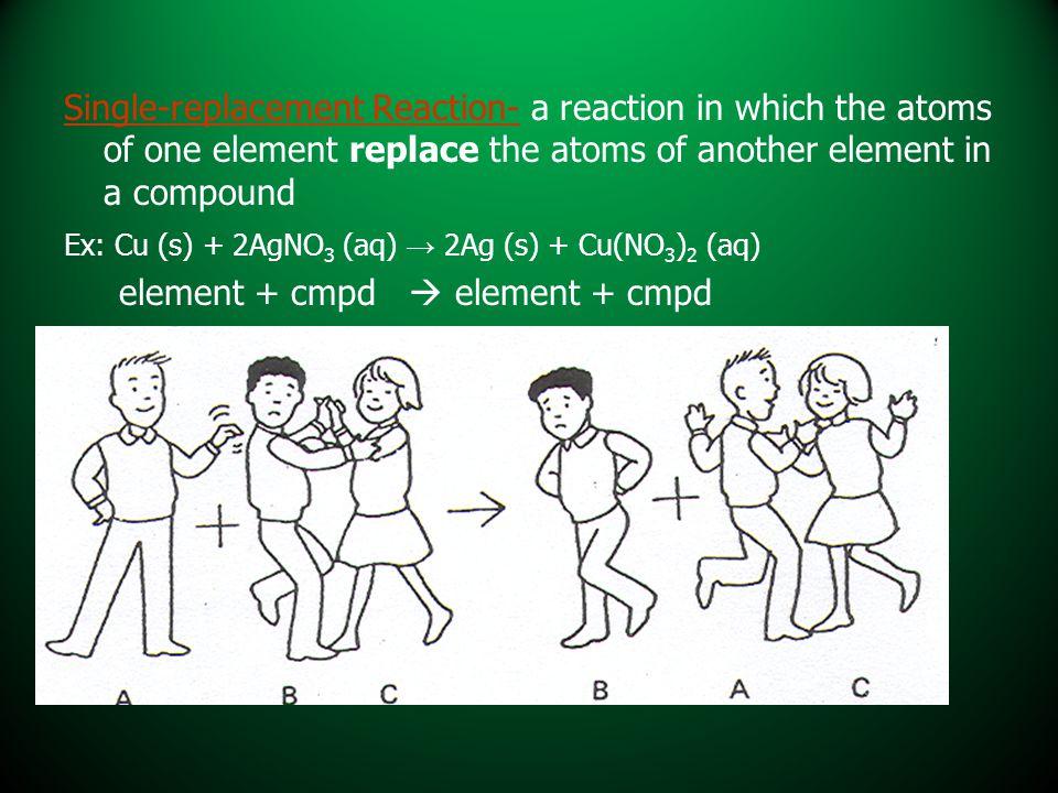 element + cmpd  element + cmpd
