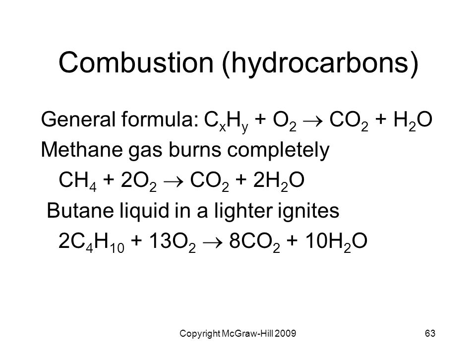 Combustion (hydrocarbons)