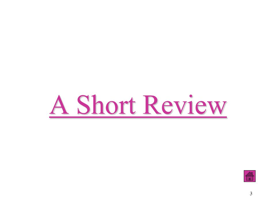 A Short Review