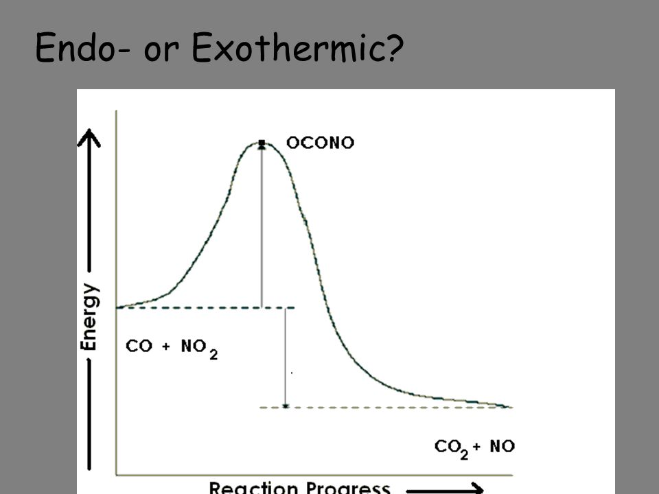 Endo- or Exothermic