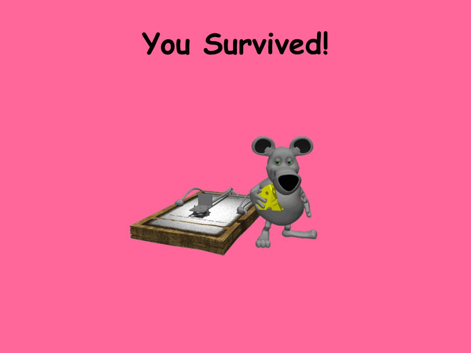 You Survived!