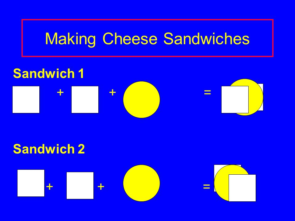 Making Cheese Sandwiches