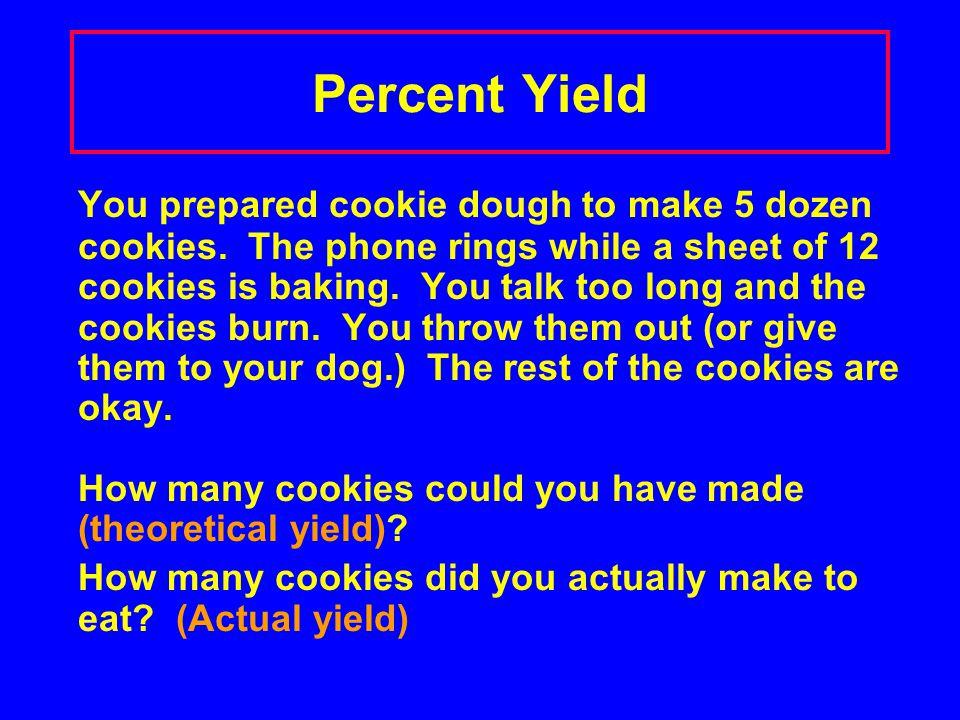 Percent Yield