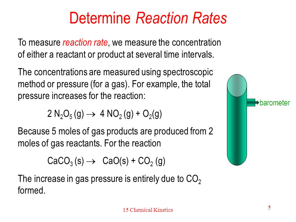 what quantities do we study regarding chemical reactions