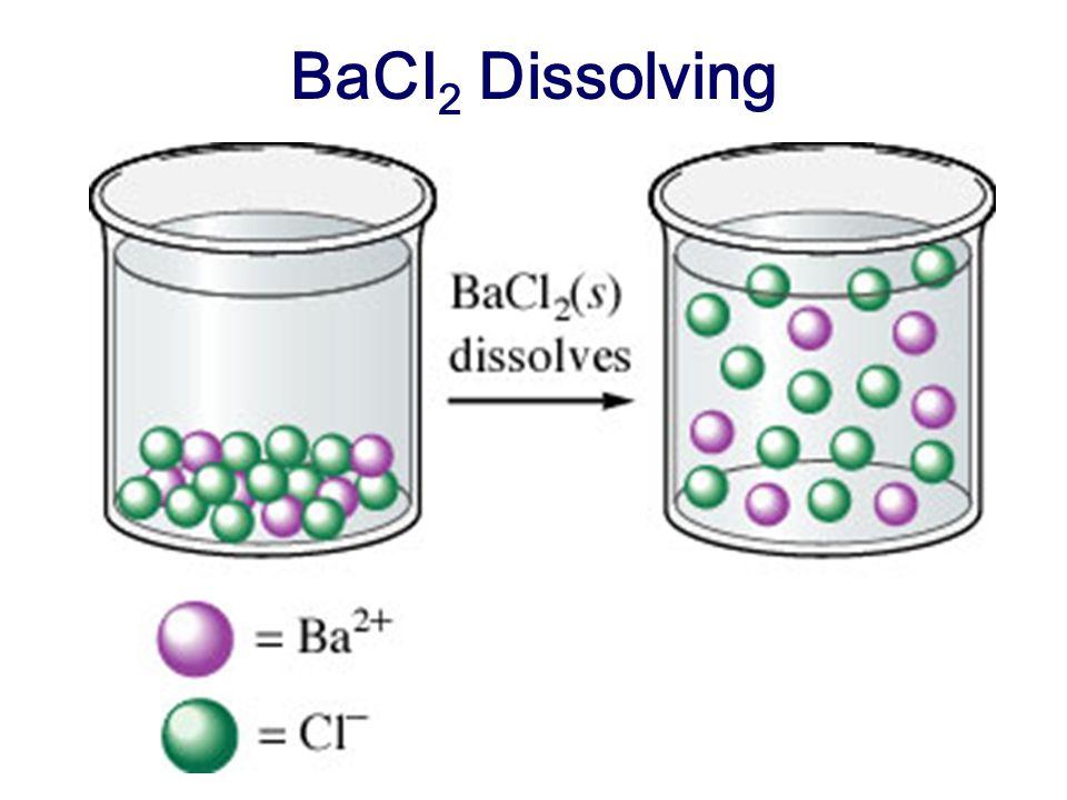 BaCI2 Dissolving