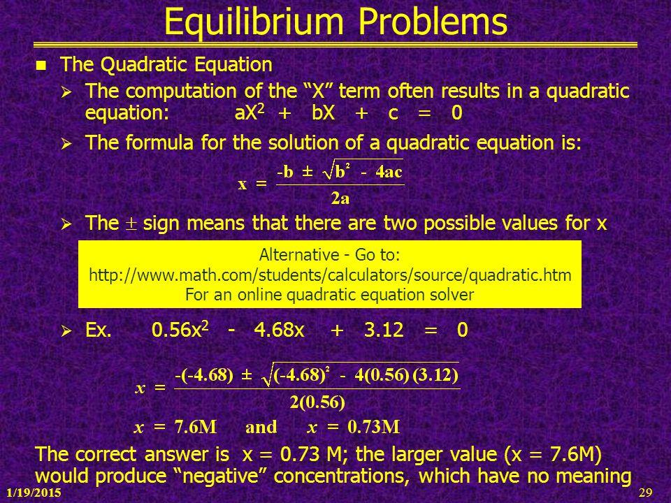 For an online quadratic equation solver