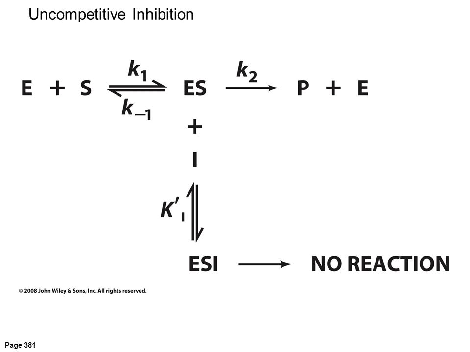 Uncompetitive Inhibition