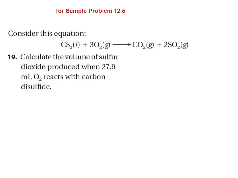 for Sample Problem 12.5