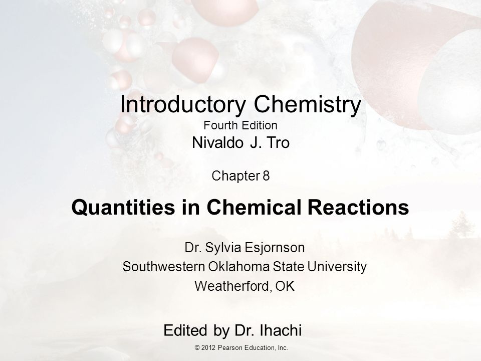 Introductory Chemistry Fourth Edition Nivaldo J