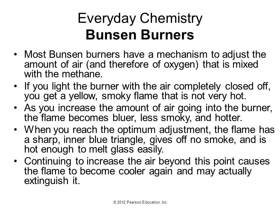 Everyday Chemistry Bunsen Burners