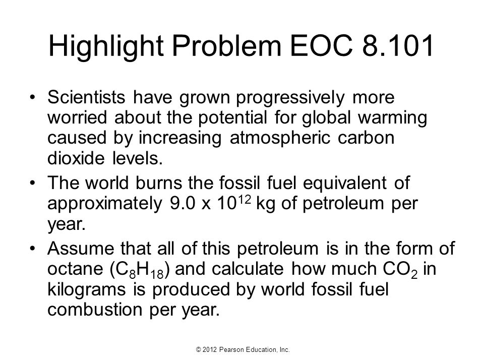 Highlight Problem EOC 8.101