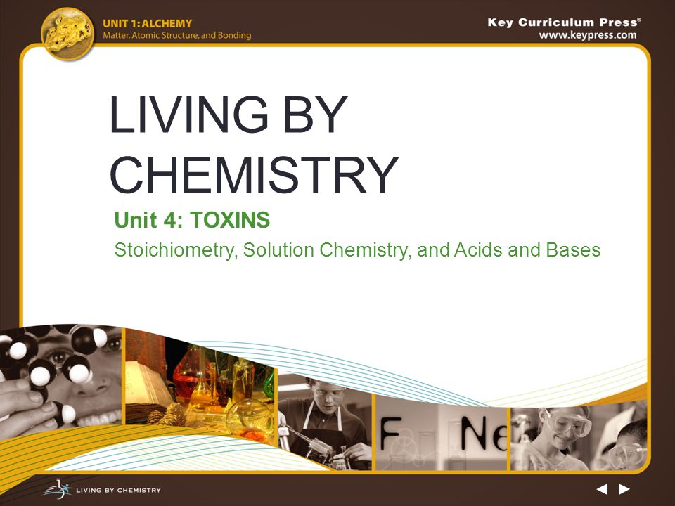 Unit 4: TOXINS Stoichiometry, Solution Chemistry, and Acids and Bases