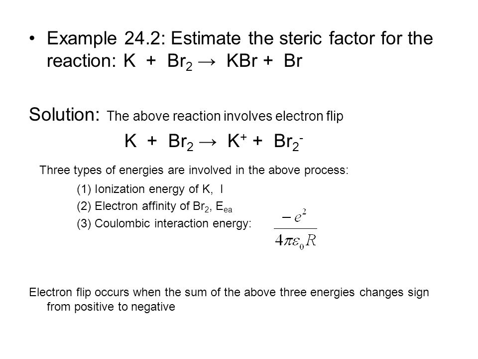 Solution: The above reaction involves electron flip