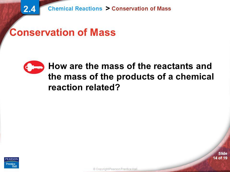2.4 Conservation of Mass. Conservation of Mass.