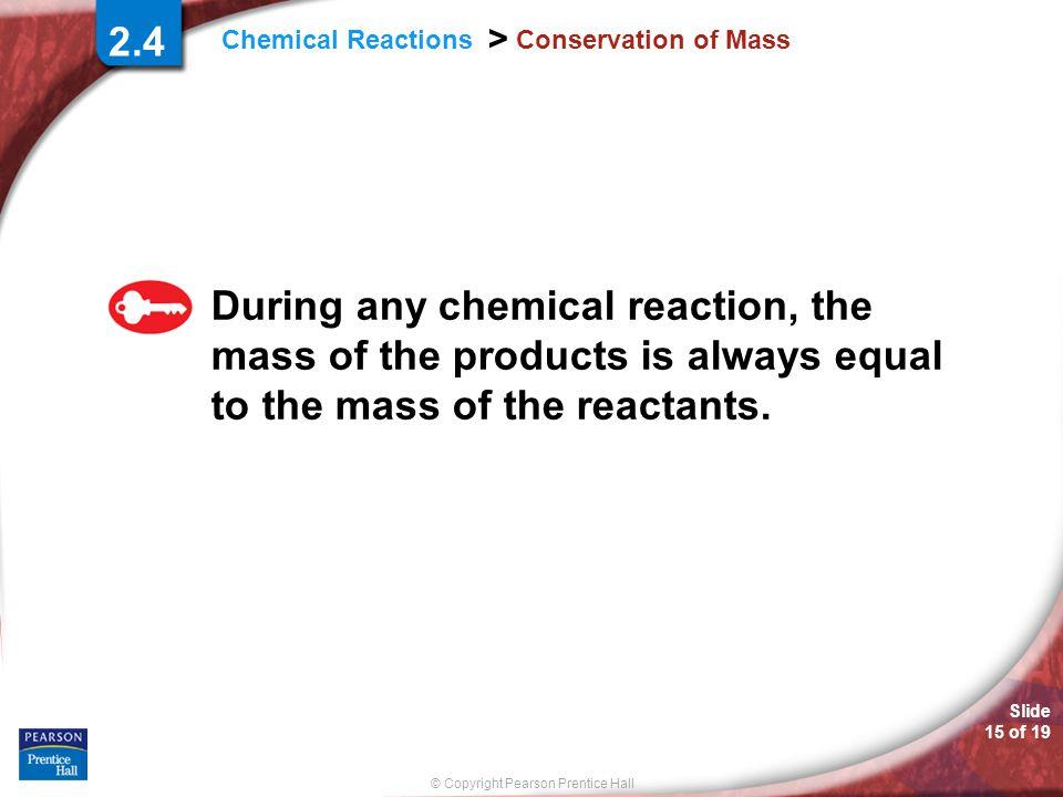 2.4 Conservation of Mass.