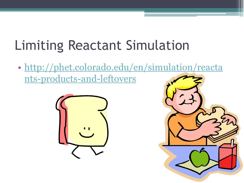 Limiting Reactant Simulation