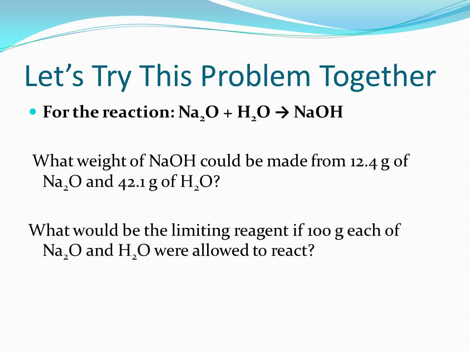 Let's Try This Problem Together
