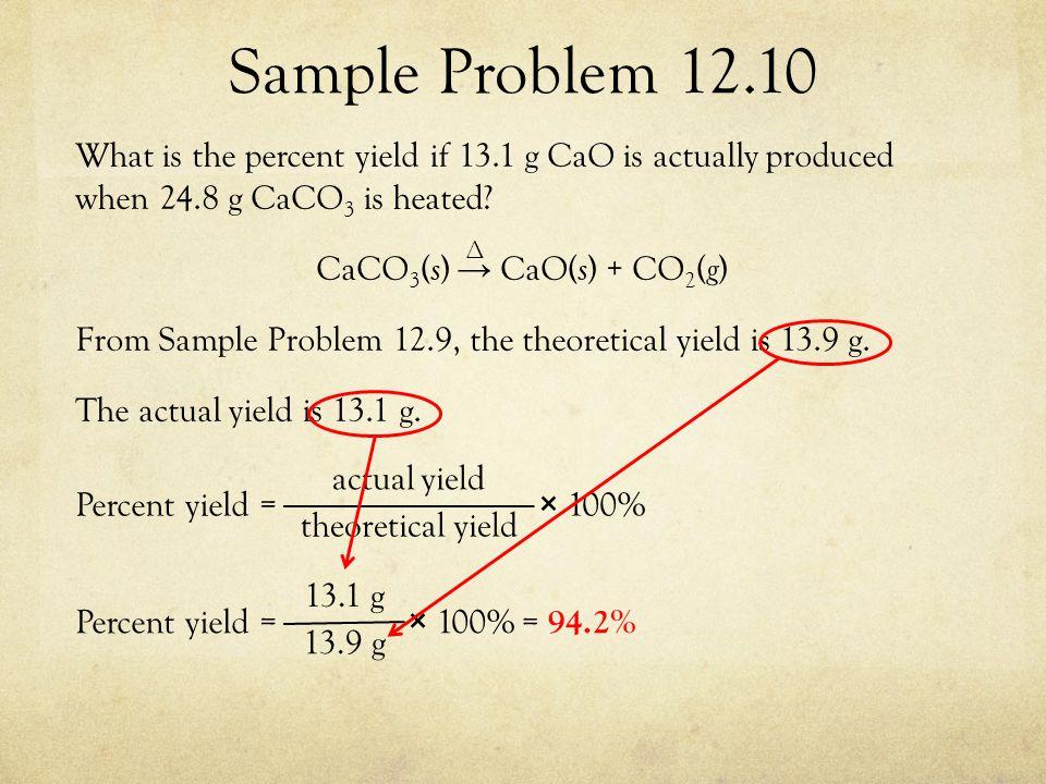 Sample Problem 12.10
