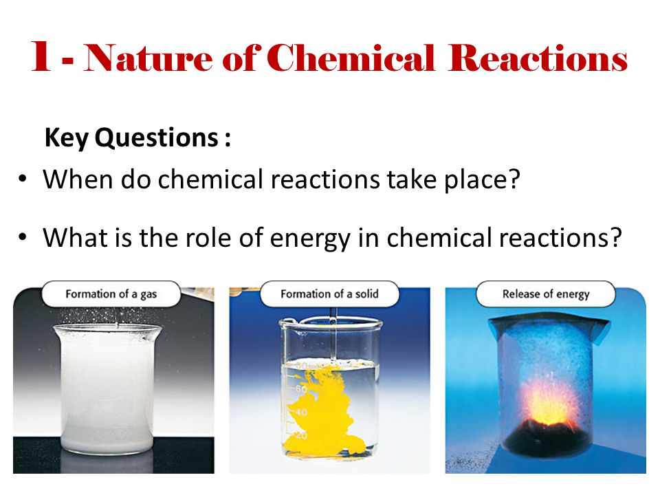 1 - Nature of Chemical Reactions