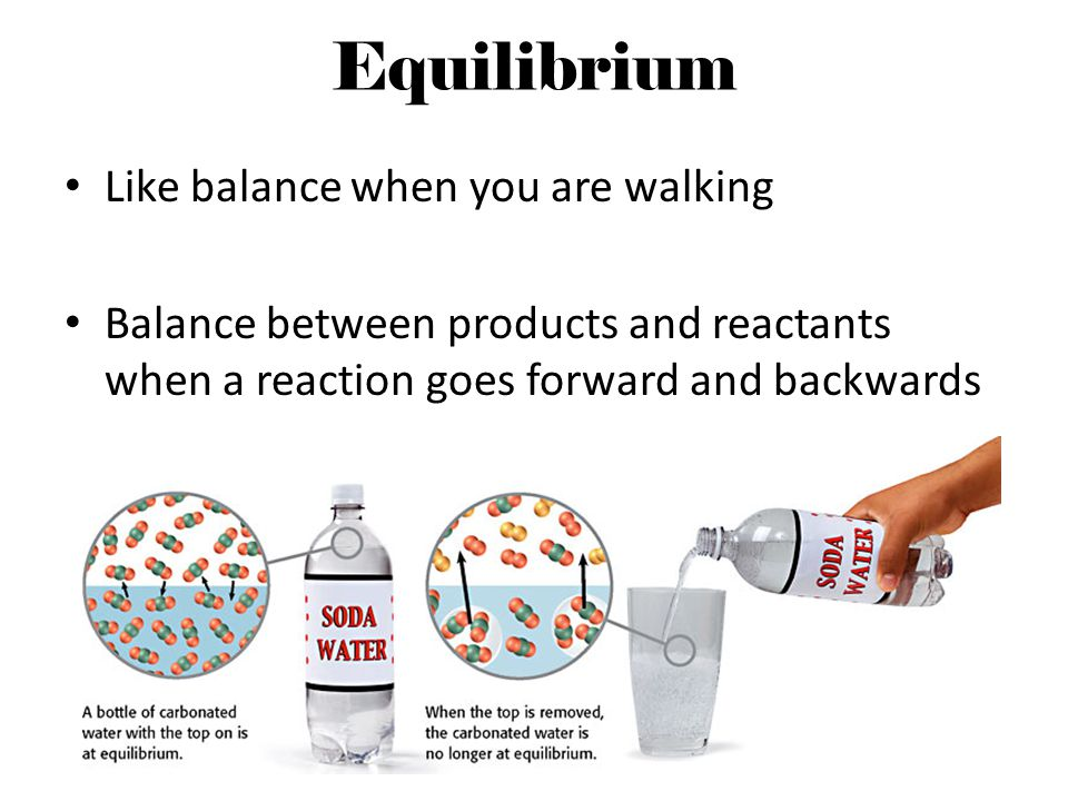 Equilibrium Like balance when you are walking