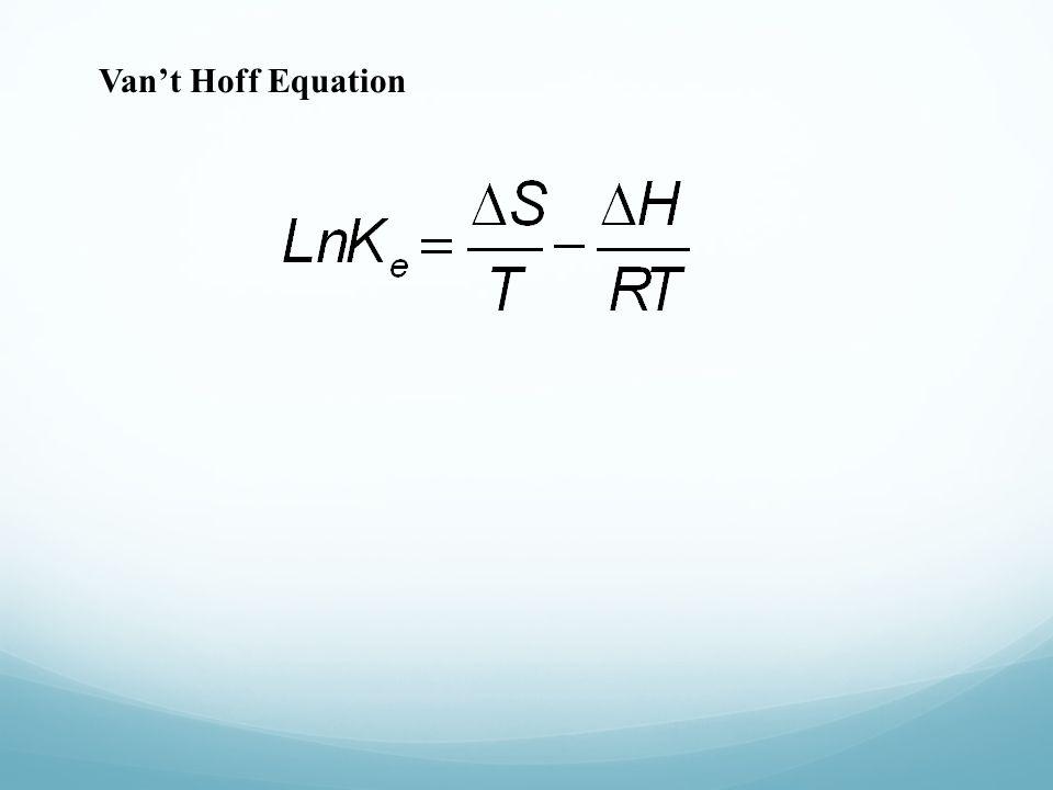 Van't Hoff Equation