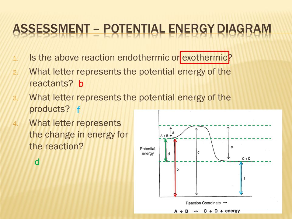 Exothermic Potential Energy Diagram 52619 Loadtve