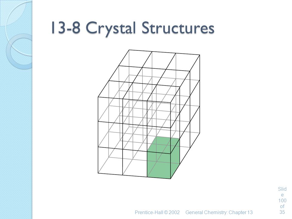 13-8 Crystal Structures Prentice-Hall © 2002