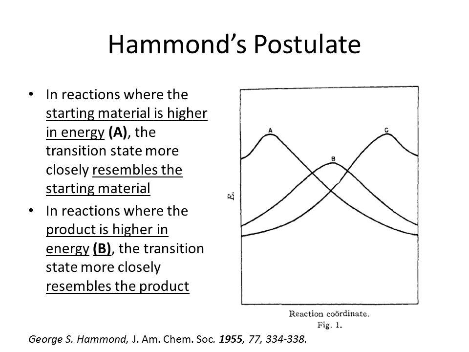 Hammond's Postulate