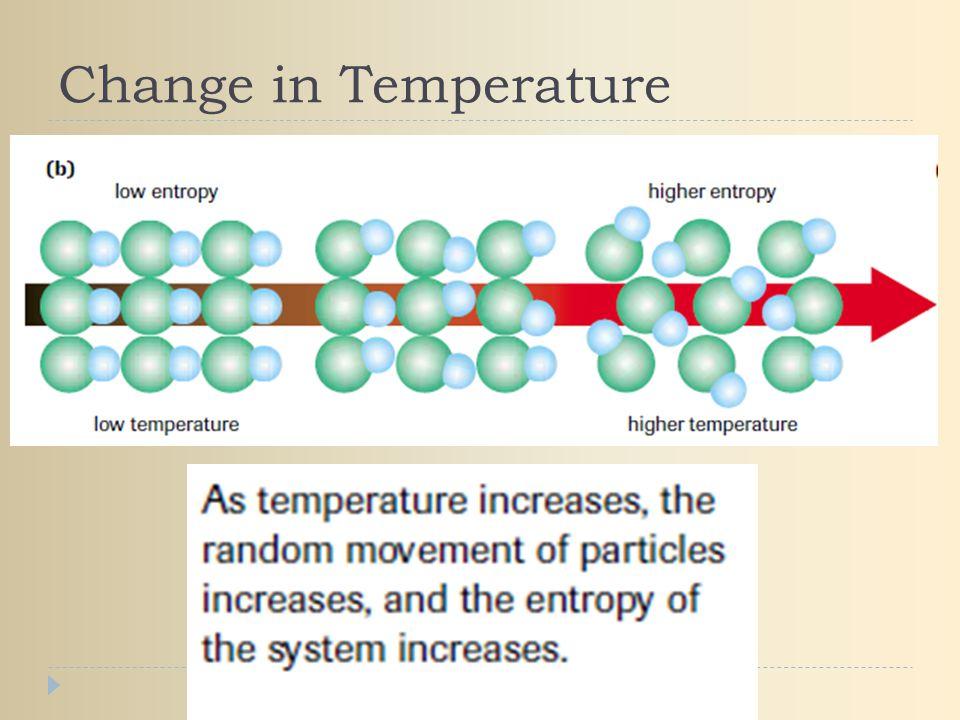 Change in Temperature