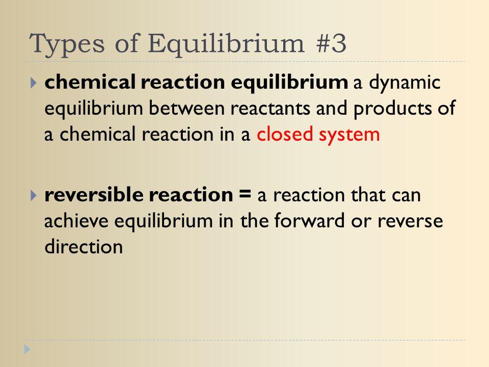 Types of Equilibrium #3