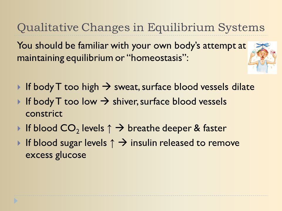 Qualitative Changes in Equilibrium Systems