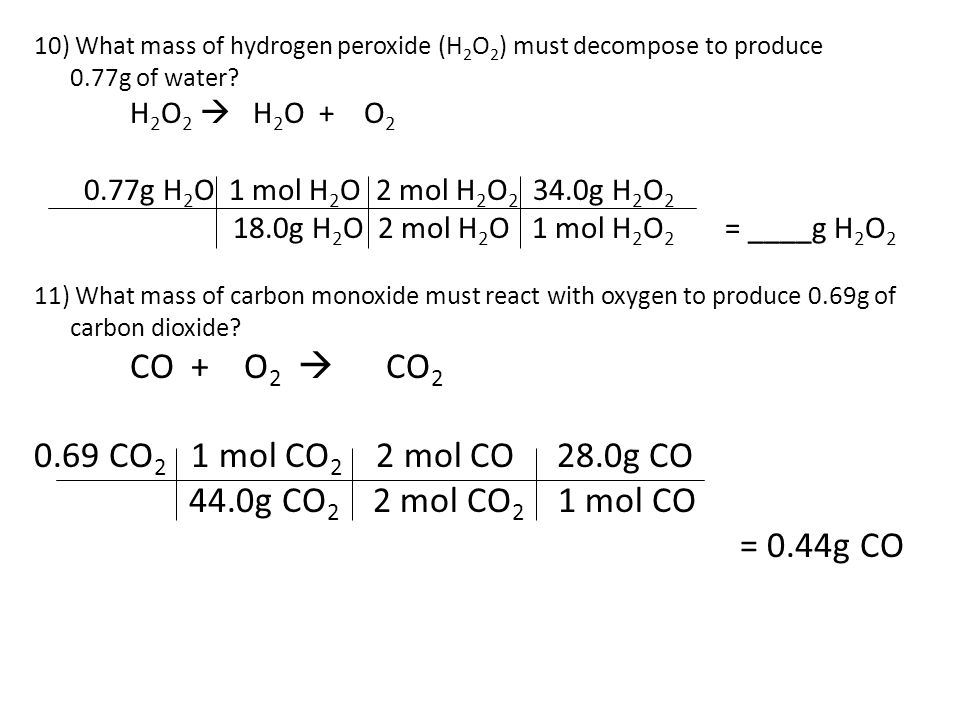Ch Stoichiometry N2(g) + H2(g) NH3(g) - ppt video online download